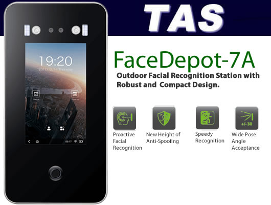 Facial Scanner / Reader - Facedepot7a