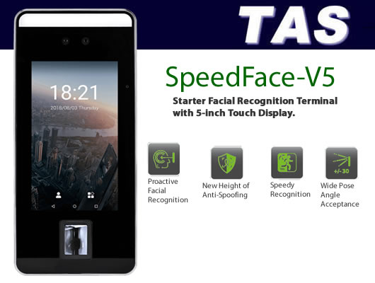 Facial Scanner / Reader - SpeedFace V5