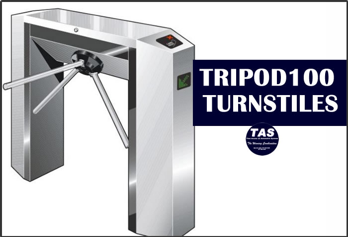 Turnstile tripod 100 Access Control and Attendance stand alone product