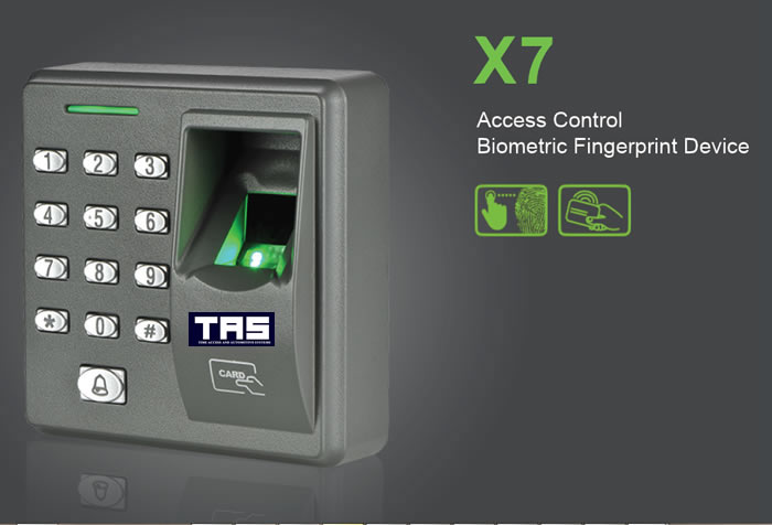 x7 biometric Fingerprint reader device