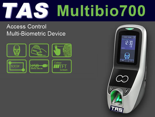 Facial Scanner & fingerprint Reader - MultiBio 700