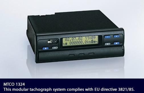 Digital tachograph VDO DTCO 1381 Rel. 1.4: the best digital control device
