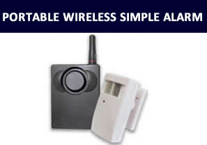 Portable Wireless Simple Alarm