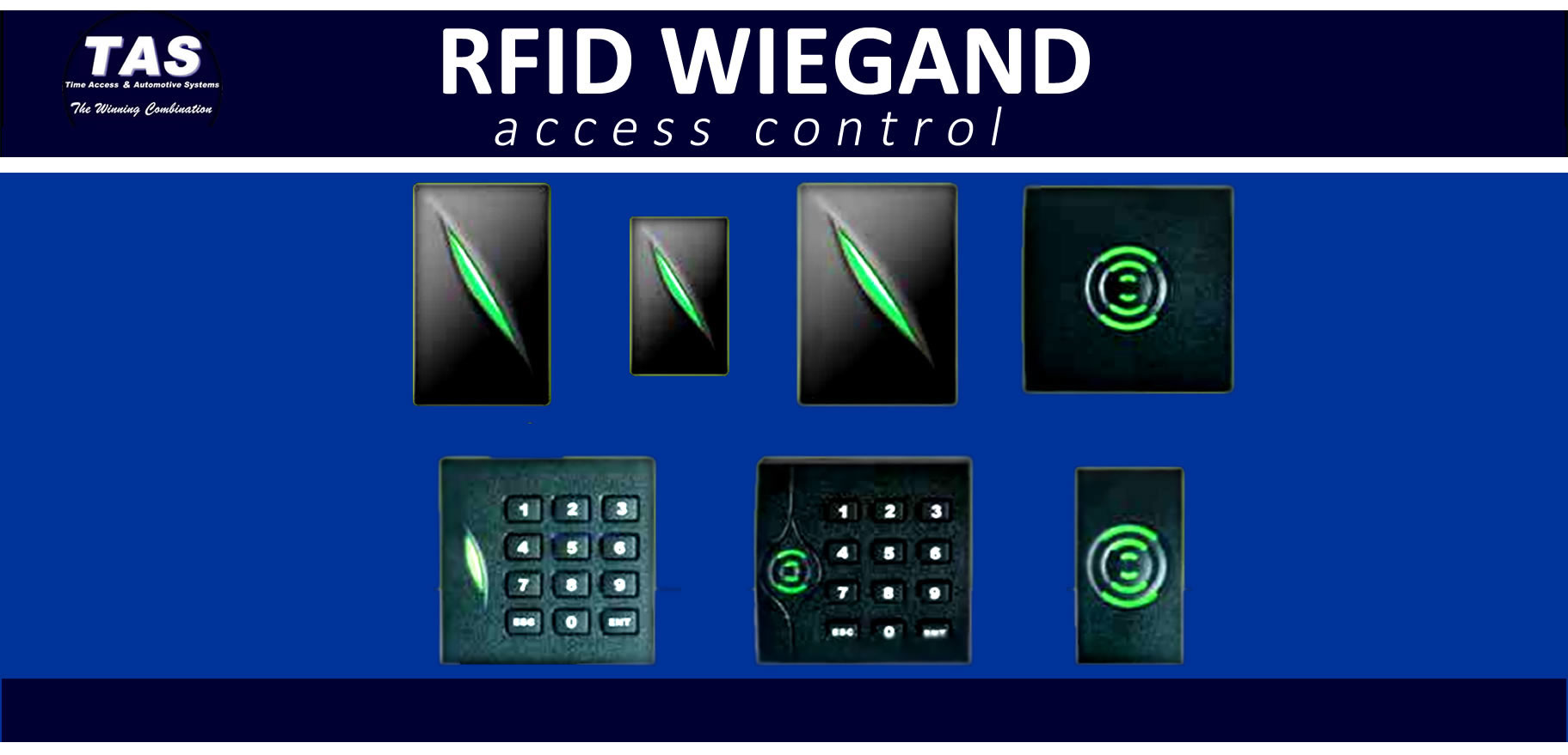 rfid wiegand proximity clock banner