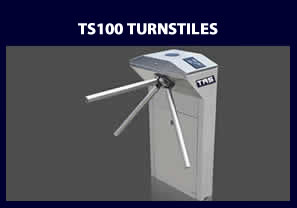 TS100 Turnstile - access control