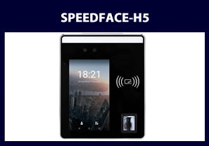 fingerprint reader and facial reader speedface-h5 biometric reader