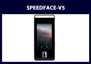 fingerprint reader and facial reader speedface-v5 biometric reader
