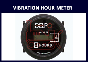 digital vibration hour meter
