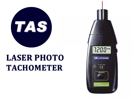 TEST INSTRUMENTATION - LASER PHOTO TACHOMETER